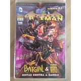Hq Dc Comics Os Novos 52! A Sombra Do Batman Nº 13 Lacrado!!
