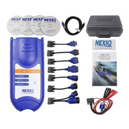 Escaner Automotriz Tipo Nexiq Usb Link Diesel Set Completo
