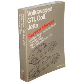 Manual De Reparación De Papel Bentley Vw Jetta / Golf / Gti