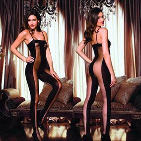 Sexy Babydoll Cuerpo Completo Legging Jumpsuit Erotico