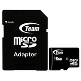 Memoria Microsd Team Group 16gb Clase 10 Adaptador A Sd
