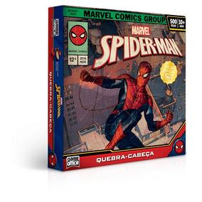 Quebra-cabeça 500 Peças - Homem Aranha - Edição Especial
