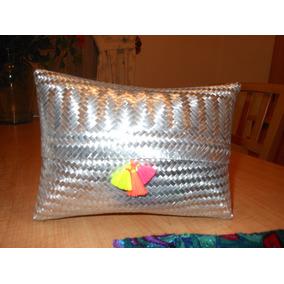 Bolsa Cartera Artesanal Aluminio