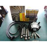 Kit Cables + Bujias + Bobina Bosch Vw Gol Power 1.4 Y 1.6