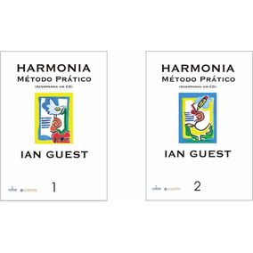 Harmonia Método Prático Ian Guest Volumes 1 E 2 Juntos