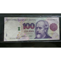 Billete 100 Convertible De Curso Legal Serie Vieja