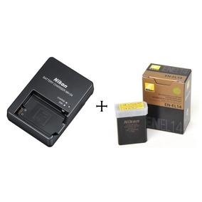 Bateria Nikon Original + Carregador D3300 D5100 D5200 D5300