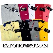 Camisa Polo Giorgio Armani - Lisa (frete Gratis Brasil)