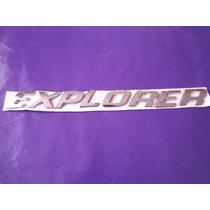Emblema Explorer Ford Camioneta