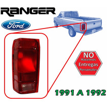 91-92 Ford Ranger Calavera Trasera Sin Arnes Lado Izquierdo