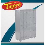 Guardarropa 10 Puertas Metalico Tisera Cerradura Gpc10