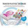 Transfer Plastisol Infantil Para Estampar, Estampado Remeras