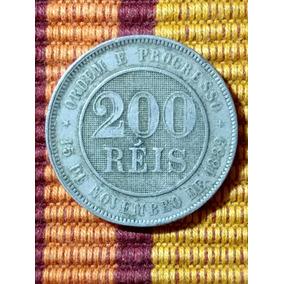 Moeda 200 Reis 1889 - Lfcosta
