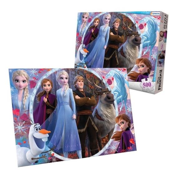 Rompecabezas Gigante 500 Piezas Frozen 2 Puzzle Licencia