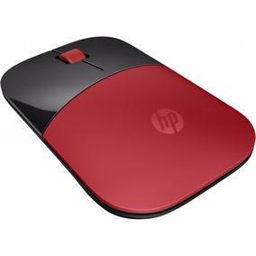 Mouse Hp Z3700 Usb Inalambrico Wireless Rojo