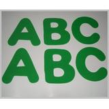 Letras Em Eva- A B C-3x30=90un-medidas 8x6cm-p/decoração
