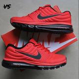 Nike Air Max 2017 Rojo Para Caballeros
