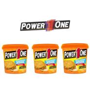 Combo 3x Pasta De Amendoim Integral - 1000g - Power One