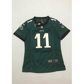 Camisa Feminina Philadelphia Eagles Wentz 11 Pronta Entrega · R  179 4604db7e17629