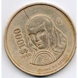 Moneda Mil Pesos Juana De Asbaje 1990 Circulada C10