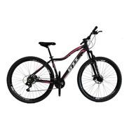 Bicicleta Aro 29 Gti Freios Disco 21 Vel