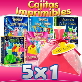 Kit Imprimible 5x1 Hadas Hadita Princesas Principes Castillo
