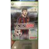Pes 2010 Original Xbox 360 . Oferta ! Ver Fotos Esta Nuevo