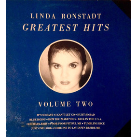 Lp Vinilo Linda Ronstadt - Greatest Hits Vol 2 Importado Usa