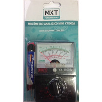 Mini Multímetro / Multitester Analógico Yx1000a Mxt