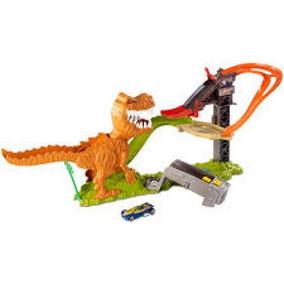 Hot Wheels Pista Ataque Do T-rex - Mattel Ffw82