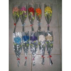 Flores De Goma Eva Laferrere - 10 Rosas Pequeñas