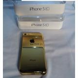 Apple Iphone 5c Original -cor Ouro Reflexo-ediçao Especial