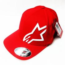 Boné Alpinestars Flexfit Original Corp Shift 2 Red S/m (p/m)