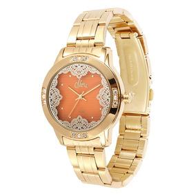 Relógio Feminino Allora Analógico Al2035fgh/4l
