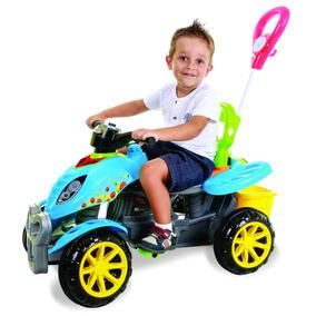 Motoca Infantil Velotrol Bebe 1 Ano Quadriciclo 3110