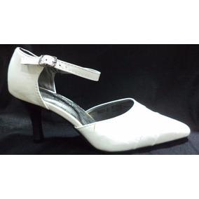 Zapatos Ideal Huasas Nuevos Blancos Liquidamos