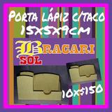 Lapicero Porta Taco Fibrofacil Souvenir Tarjetero