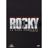 Rocky La Saga Completa De Peliculas 1 A La 6 Dvd