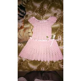 Vestido Tejido Para Niña De 1 Año