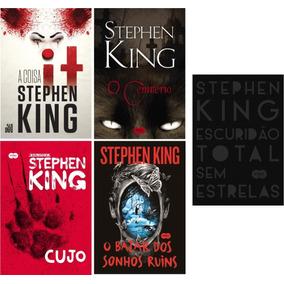 Kit Stephen King - 5 Livros - Novos