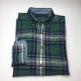 Camisa Hombre Casual Cuadros Algodón Nautica Original