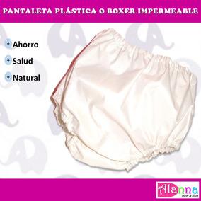 Pantaletas Plasticas O Boxer Ecológicas Impermeables P Bebes