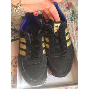 88d3787399 Tênis adidas Preto Com Dourado Tamanho 36
