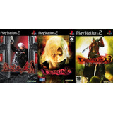 [ps2] Saga Devil May Cry (3 Juegos) Para Playstation 2