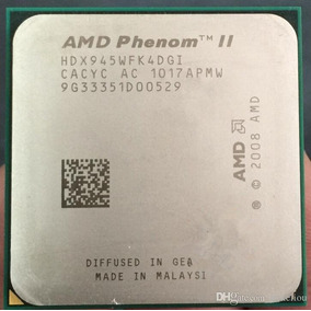 Processador Amd Phenom I I X4 945 (3.0ghz) Socket Am2+/ Am3