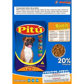 Ração Pitu 25kg Para Cães Adultos