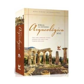 Biblia De Estudo Arqueologica Nvi - Capa Dura - Vida