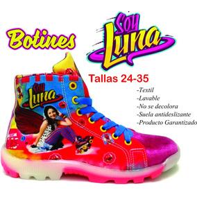 Botin Zapatilla Zapato Niña Soy Luna Originales