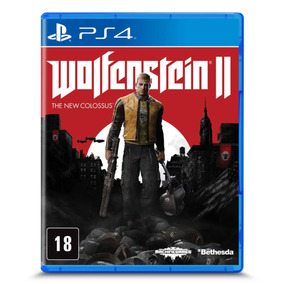 Wolfenstein Ii - The New Colossus - Ps4|