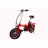 Bicicleta Eléctrica 250w Plegable Con Llantas De Aluminio